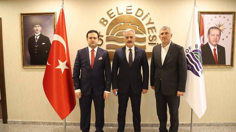 Vali Seymenoğlu'ndan Başkan Sarıalioğlu'na 'Hayırlı Olsun' Ziyareti