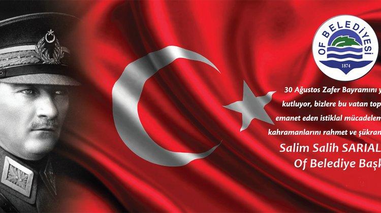 Başkan Sarıalioğlu'ndan 30 Ağustos Mesajı