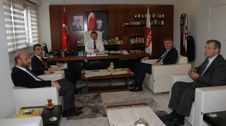 Başkan Sarıalioğlu'ndan, Çaykur Genel Müdürü Sütlüoğlu'na Ziyaret