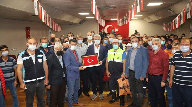 Of Belediyesi çalışanları toplu iş sözleşmesini imzaladı