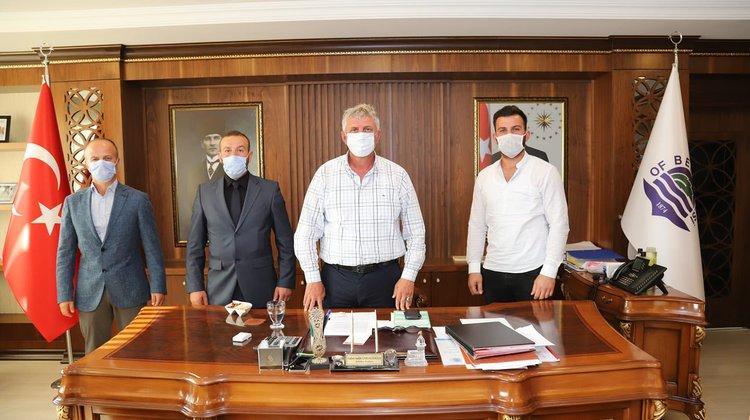 Of Ülkü Ocakları'ndan Başkan Sarıalioğlu'na ziyaret