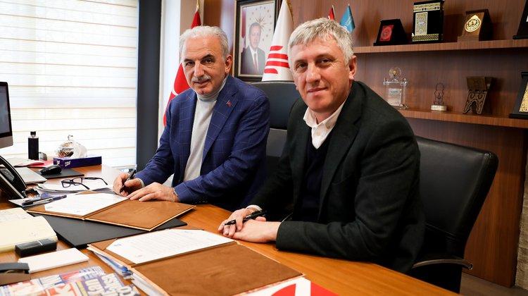 Of Belediyesi Ümraniye Belediyesi ile Kardeşlik Protokolü İmzaladı