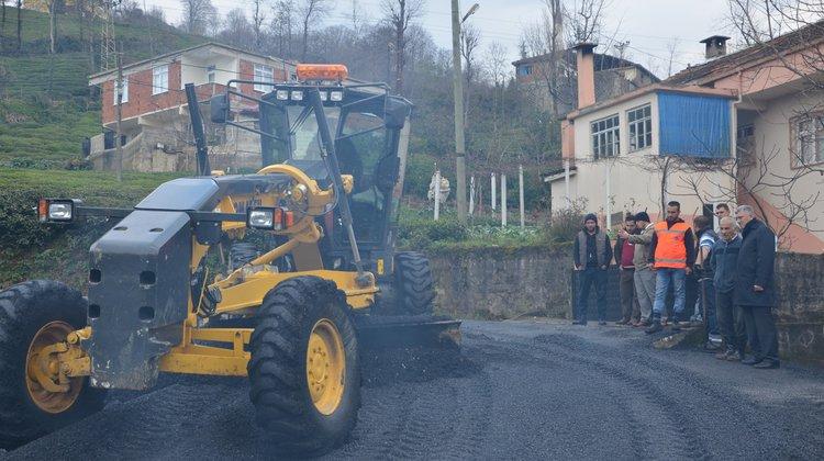 Asfaltlama Çalışmaları Sıraağaç Mahallesinde Devam Ediyor