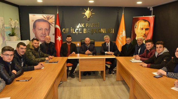 Başkan Sarıalioğlu, AK Partili Gençlerle Buluştu