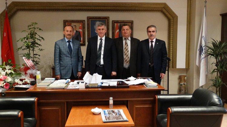 Trabzon Dernekleri Federasyonu'ndan Başkan Sarıalioğlu'na ziyaret