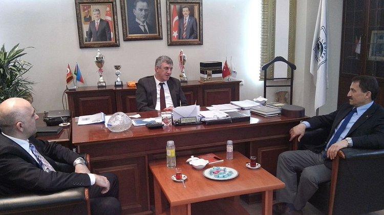 Atalay'dan Başkan Sarıalioğlu'na ziyaret