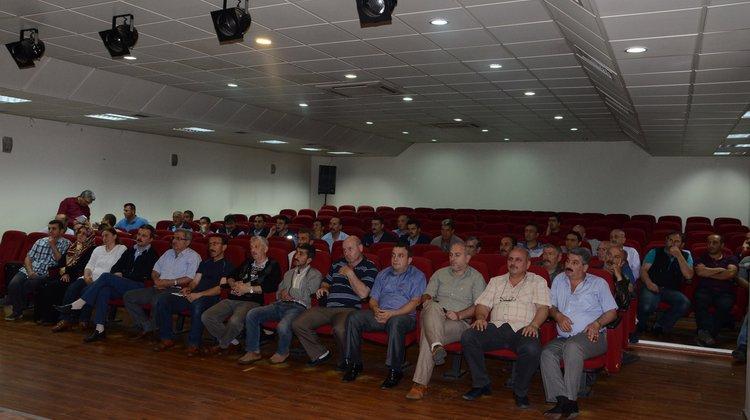 Of Belediyesi İş Sağlığı ve Güvenliği Yasası Hakkında Konferans Verdi