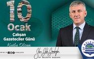 """Başkan Sarıalioğlu'nun """"10 Ocak Çalışan Gazeteciler Günü"""" Mesajı"""