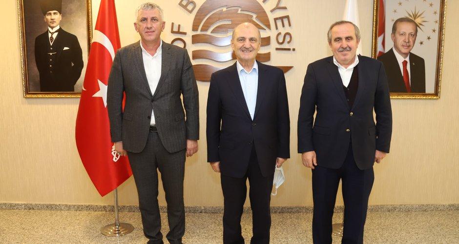 Erdoğan Bayraktar'dan Başkan Sarıalioğlu'na ziyaret