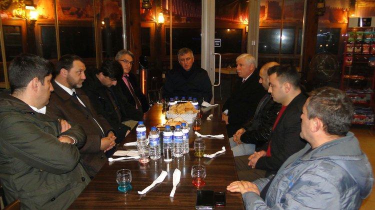 Of Kent Konseyi Başkan Sarıalioğlu'nu ağırladı