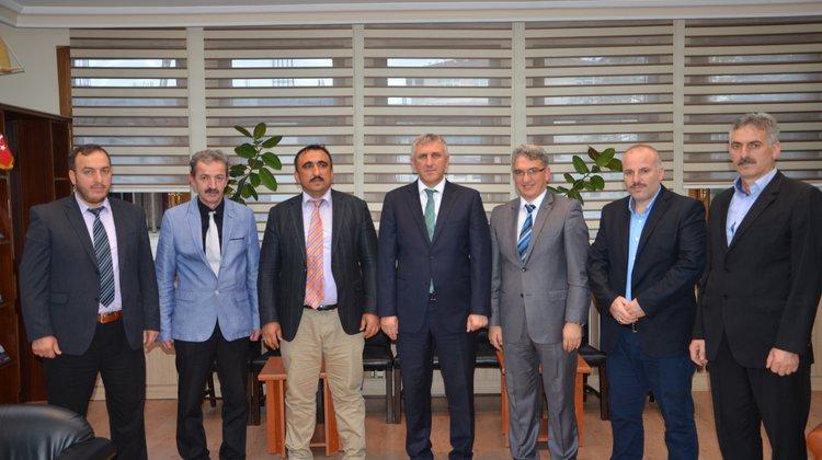Başkan Sarıalioğlu, Memur-Sen Of Temsilcilerini Kabul Etti