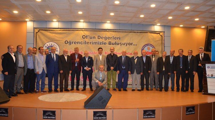 Şair-Yazar Karal ve Uzman Dr. Holoğlu Of'ta öğrencilerle buluştu