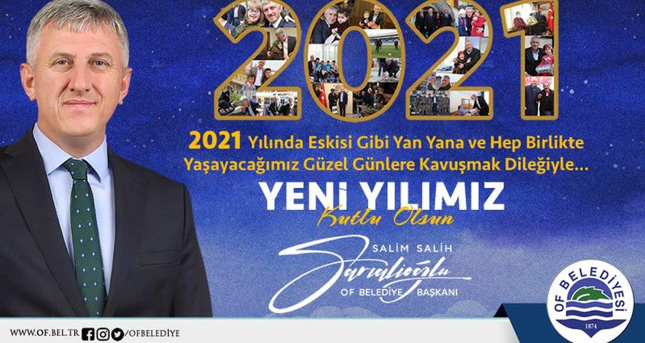 Başkan Sarıalioğlu'nun Yeni Yıl Mesajı