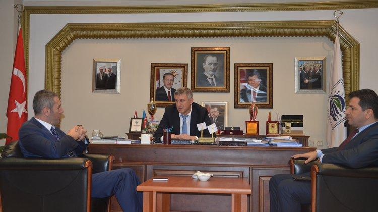 İMEF Kurucu Başkanı Bilici'den Ziyaretler