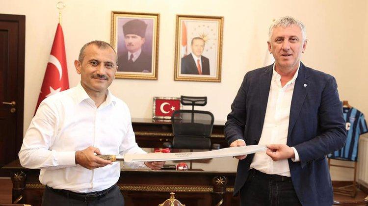 Başkan Sarıalioğlu'ndan Vali Sonel'e hayırlı olsun ziyareti