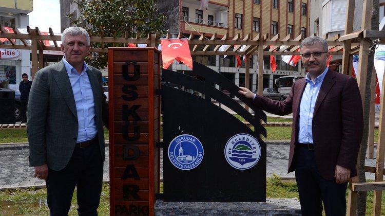 Yenilenen Üsküdar Parkı hizmete açıldı