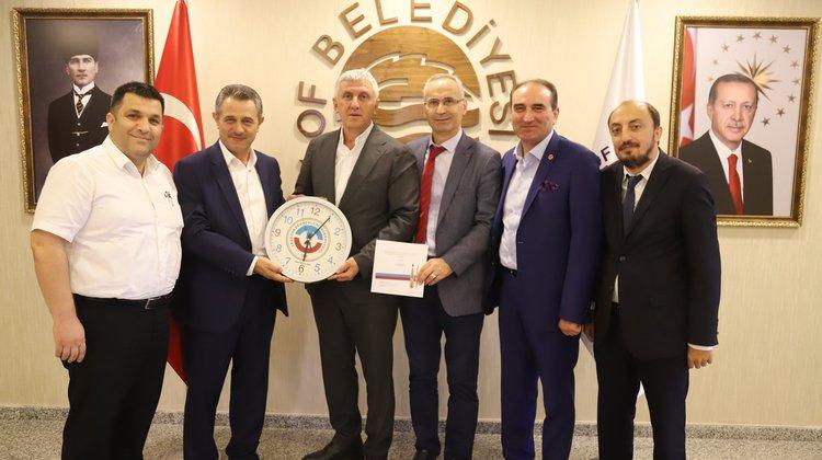 Trabzon Dernekler Federasyon'undan Başkan Sarıalioğlu'na ziyaret