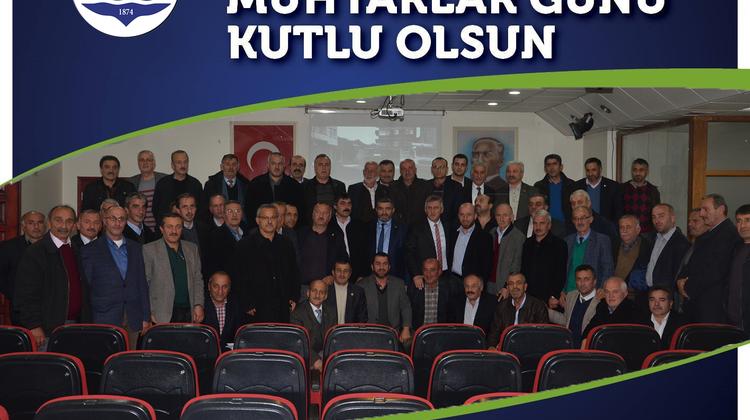 Başkan Sarıalioğlu'nun Muhtarlar Günü Mesajı
