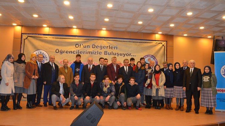 ÖSYM Başkanı Prof. Demir Oflu Öğrencilere Tecrübelerini Sundu