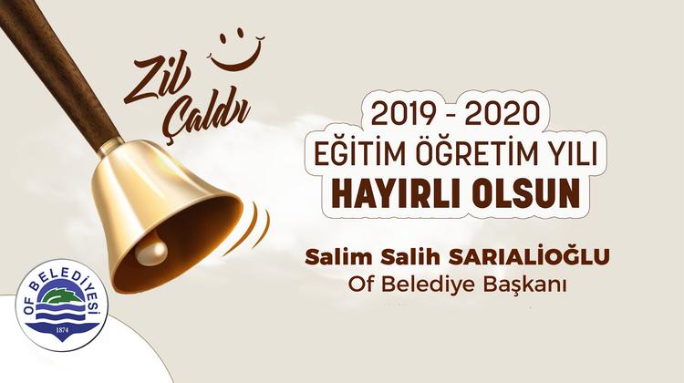 Başkan Sarıalioğlu, Tüm Eğitim Camiamızın Yeni Dönemi Hayırlı Olsun