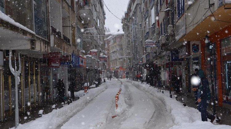 Of Belediyesi'nden Kar Uyarısı!