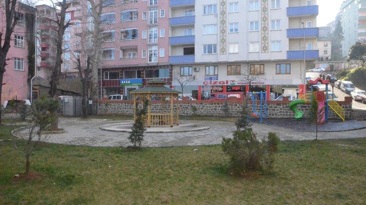 Of'a Yeni Park ve Oyun Alanı Kazandırıldı