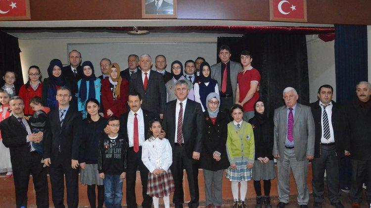 Of'ta İstiklal Marşı'nın Kabulünün 94.Yıl Dönümü Törenle Kutlandı