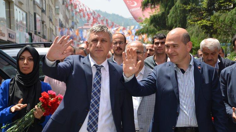 Başkan Sarıalioğlu'ndan, Bakan Soylu'ya Destek