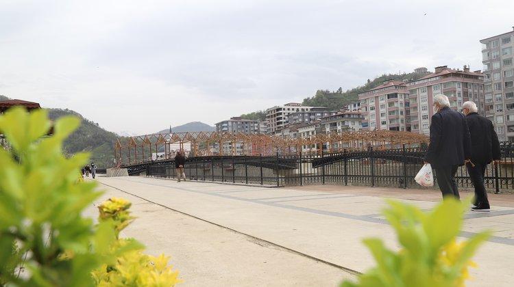 Solaklı Vadisi Yaya Köprüsü Açılış İçin Gün Sayıyor