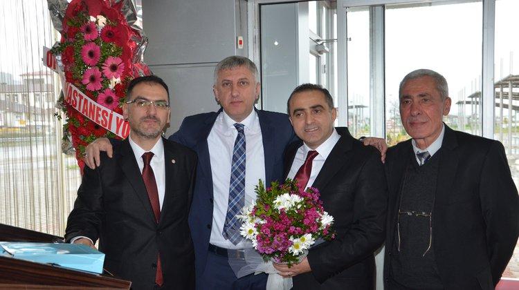Başkan Sarıalioğlu Of Devlet Hastanesi Personeli İle Buluştu