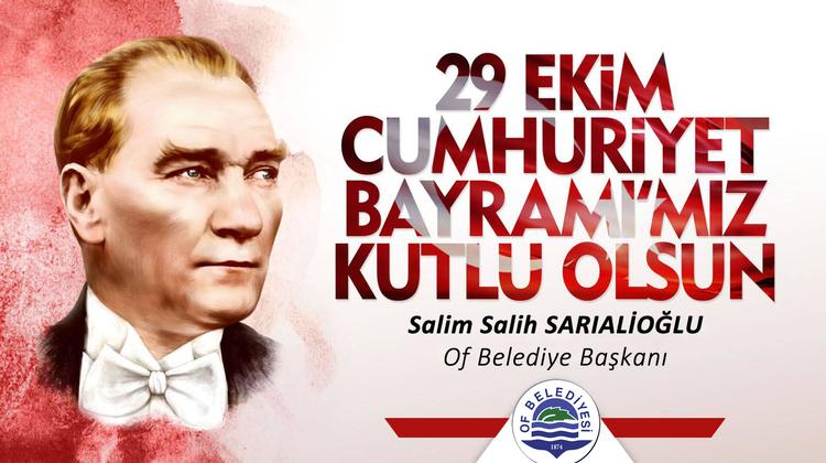 Başkan Sarıalioğlu'ndan 29 Ekim Cumhuriyet Bayramı Mesajı