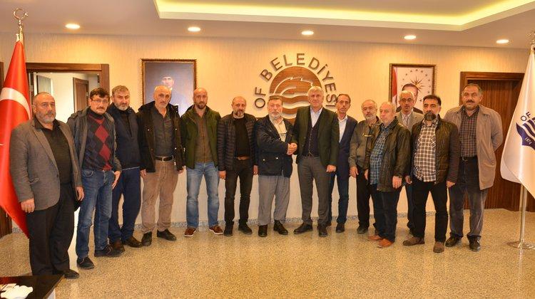 Çamlıtepe Mahallesi'nden Başkan Sarıalioğlu'na Ziyaret