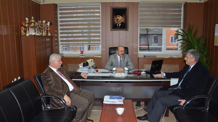 Başkan Sarıalioğlu'ndan okul müdürlerine ziyaret