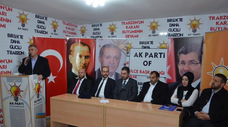 Başkan Sarıalioğlu Ak Parti Ocak Ayı İlçe Danışma Meclisi toplantısına katıldı