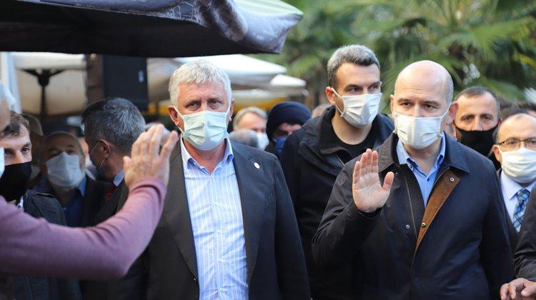 Başkan Sarıalioğlu'ndan İçişleri Bakanı Soylu'ya taziye mesajı