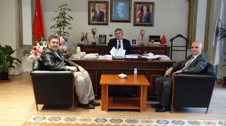 YURTKUR'dan Başkan Sarıalioğlu'na ziyaret