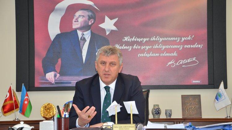 Başkan Sarıalioğlu, Oflular Ata'sının Yanında ve İzindedir