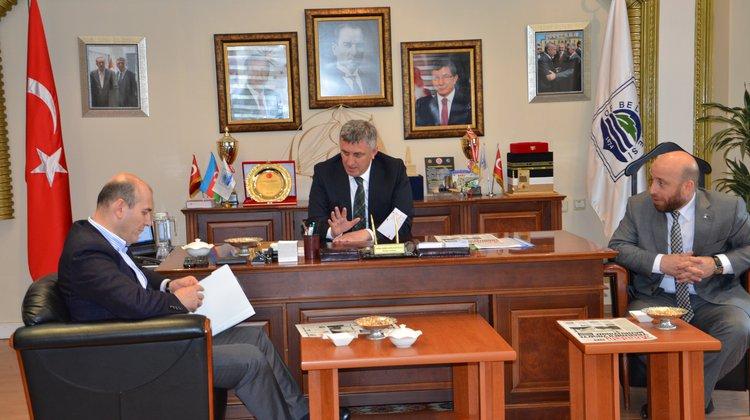 Soylu'dan Başkan Sarıalioğlu'na Ziyaret