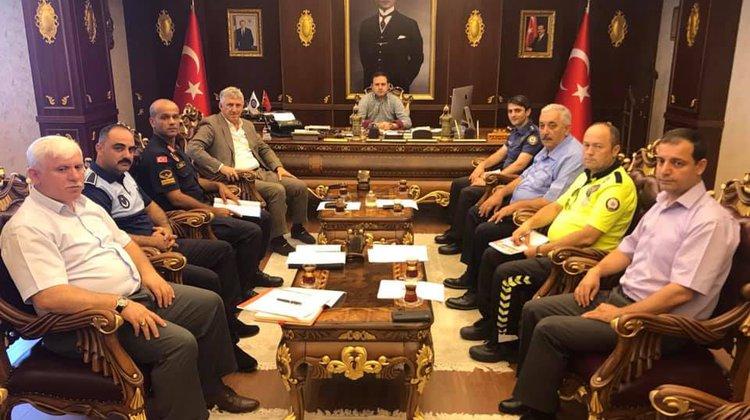 Of'ta Trafik Değerlendirme Toplantısı yapıldı
