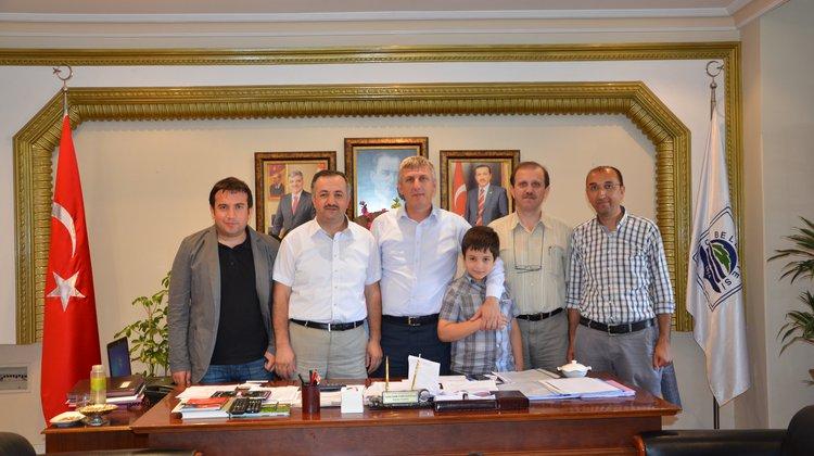 Memur-Sen'den Başkan Sarıalioğlu'na Ziyaret