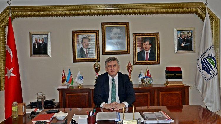 Başkan Sarıalioğlu'nun Regaip Kandili Mesajı