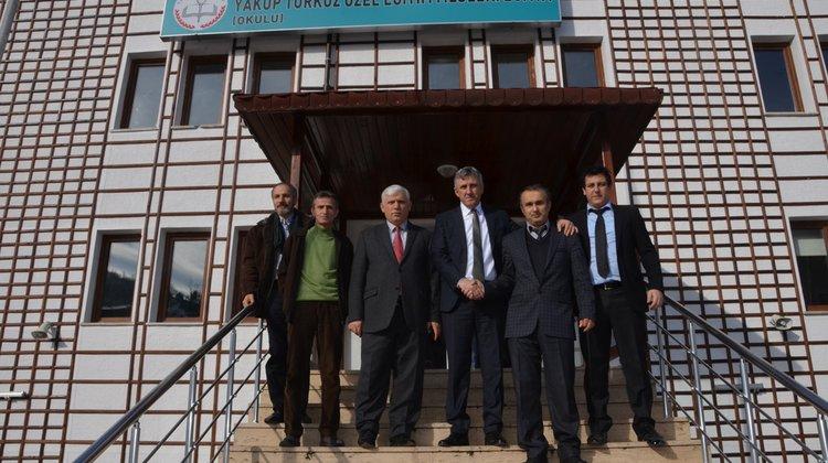 Başkan Sarıalioğlu'ndan Atanan Müdürlere Ziyaret