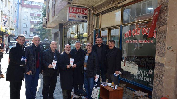 Başkan Sarıalioğlu'ndan 'Evet' ziyareti