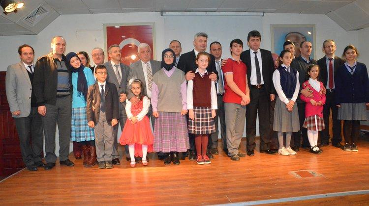 Of'ta İstiklal Marşı'nı Güzel Okuma Yarışması Yapıldı