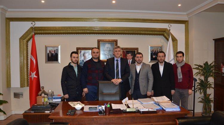 Trabzon AK Parti Gençlik Kollarından Başkan Sarıalioğlu'na Ziyaret