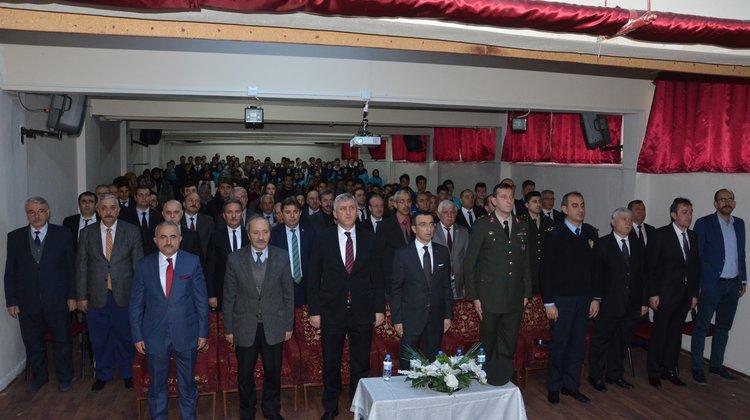 10 Kasım Atatürk'ü Anma Etkinlikleri Of'ta Gerçekleşti