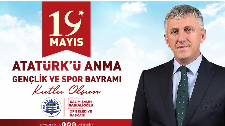 Başkan Sarıalioğlu'ndan 19 Mayıs Mesajı