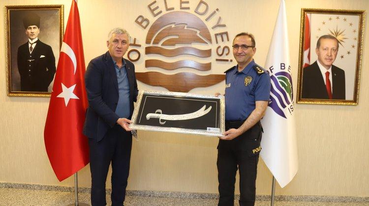 Emniyet Müdürü Kantar'dan Başkan Sarıalioğlu'na Veda Ziyareti