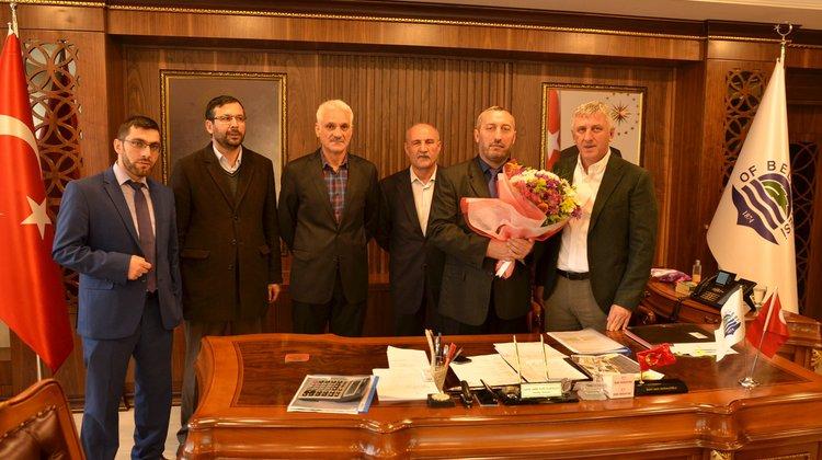 İlçe Müftülüğünden Başkan Sarıalioğlu'na Ziyaret