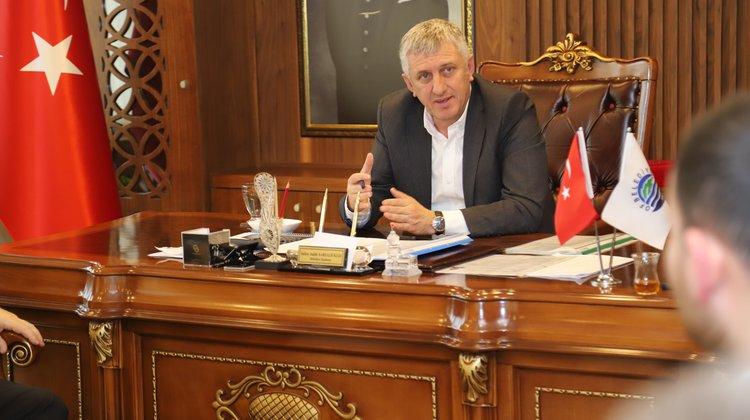 """Başkan Sarıalioğlu, """"2020 Yılı Of İçin Yatırım Yılı Olacak"""""""